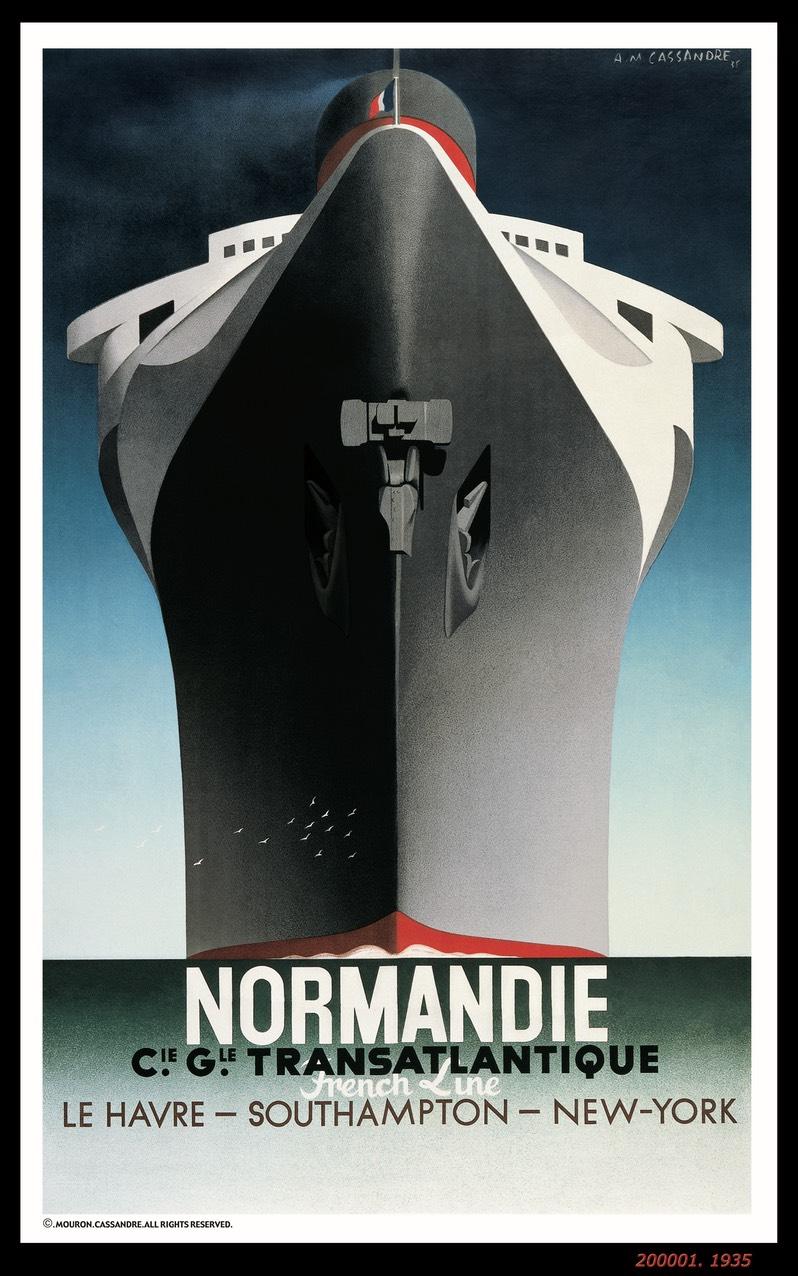 A.M. Cassandre, 1935