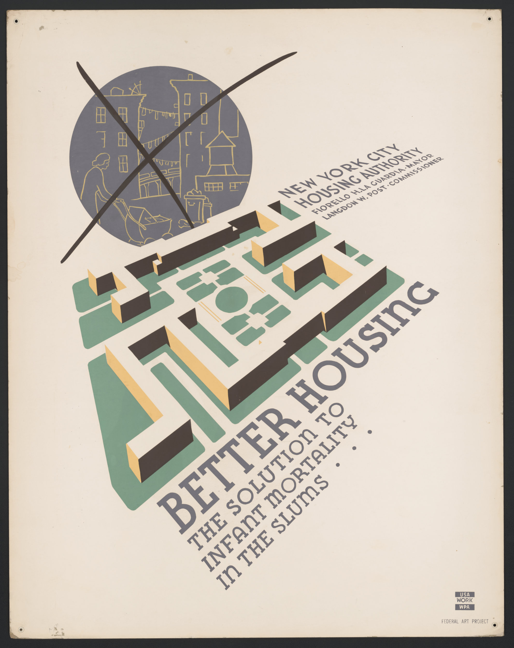 Anthony Velonis, NYC Poster Division, c. 1936–1941