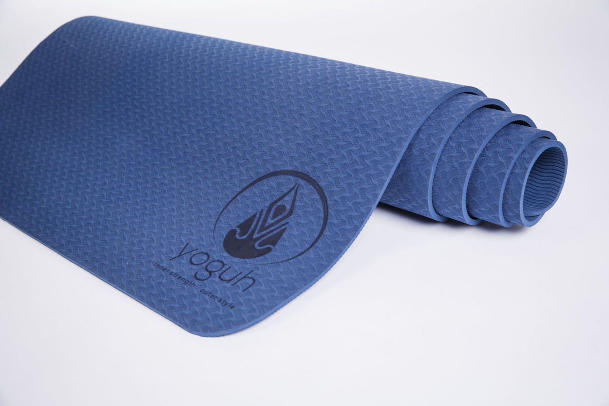 Lotus Non Slip Cushion Yoga Mat