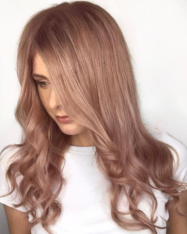 - Muted Metallics - Rose Gold - . . .  With Silver, Lavender and Rose Gold to pick from the hardest decision was what tone to try first!  #mutedmetallics #paulmitchell #paulmitchellcolor #newproduct #thedemi #rosegold #rosegoldhair #pinkhair #hairlove #hairlife #hairdresser #hairstyle #hairart #hairgoals #bloggerstyle #hairdressermagic #behindthechair #maneinterest #hairpainters @paulmitchelluk @paulmitchellus @salonsuccessuk