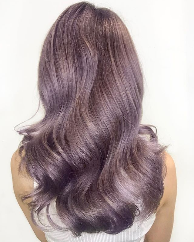 -Muted Metallics - Lavender - . . . . #mutedmetallics #paulmitchellcolor #trulytailoredcolour #thedemi #lavenderhair #purplehair #hairlove #hairlife #hairdresser #hairstyle #hairart #hairgoals #instadaily #instalove #instablog #styleblog #bloggerstyle #hairdressermagic #behindthechair #maneinterest #hairpainters