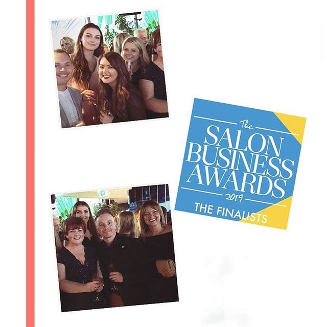 A huge congratulations @purehairlightwater for reaching the finals of The Salon Business Awards 2019! Enjoy your evening! 🍸💃🏼