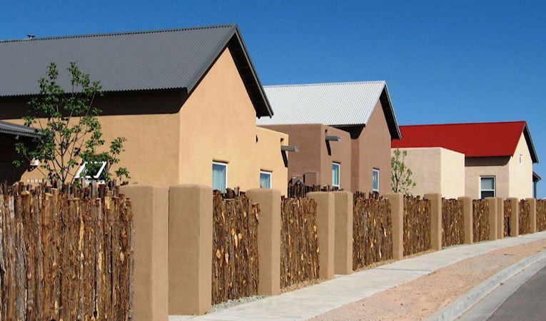 Affordable Housing design in Santa Fe