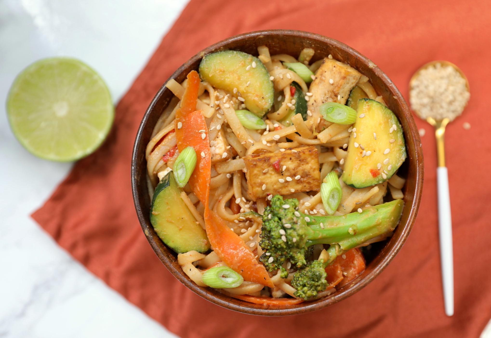 Tofu & Vegetable Pad Thai