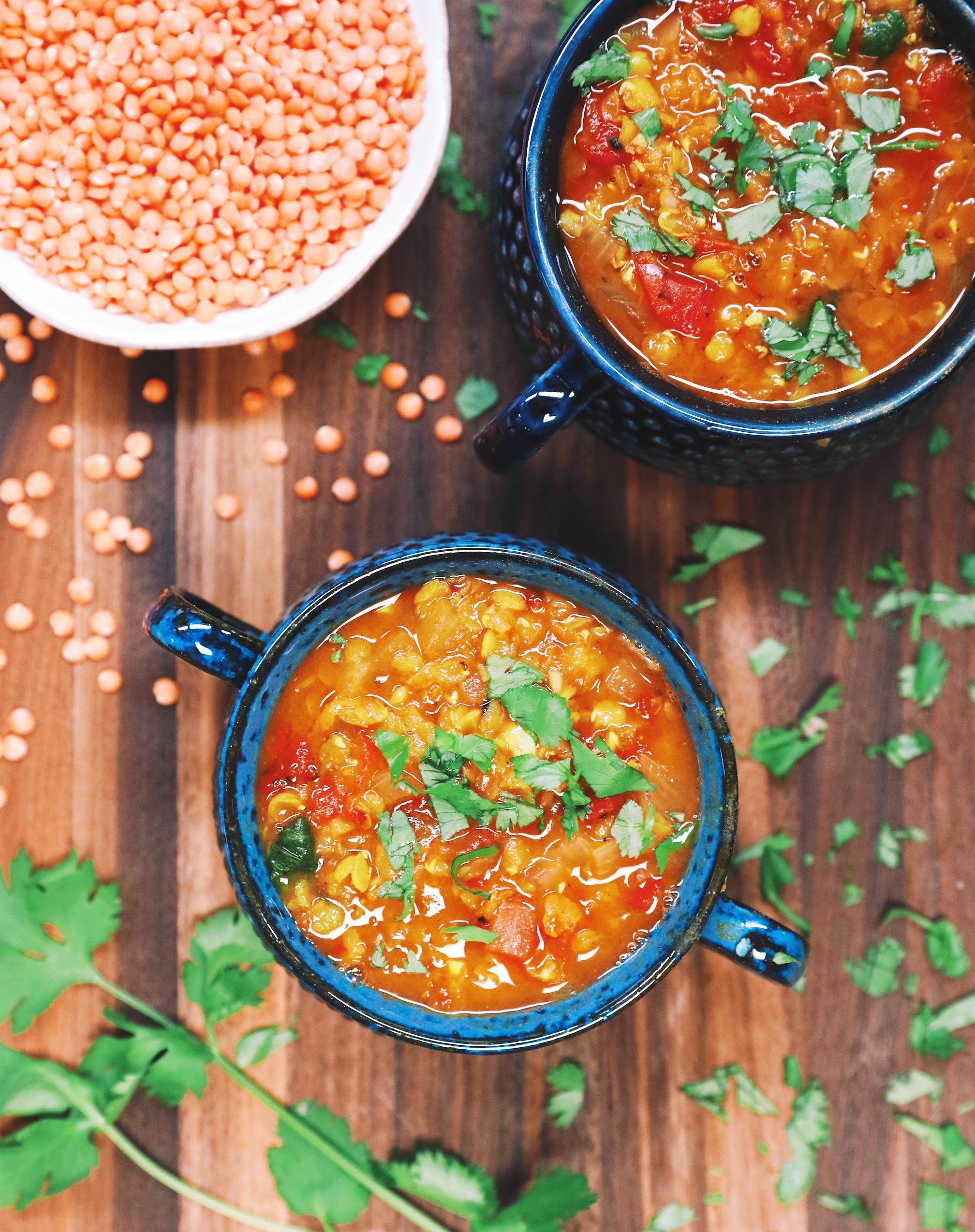 One-Pot Red Lentil Dal