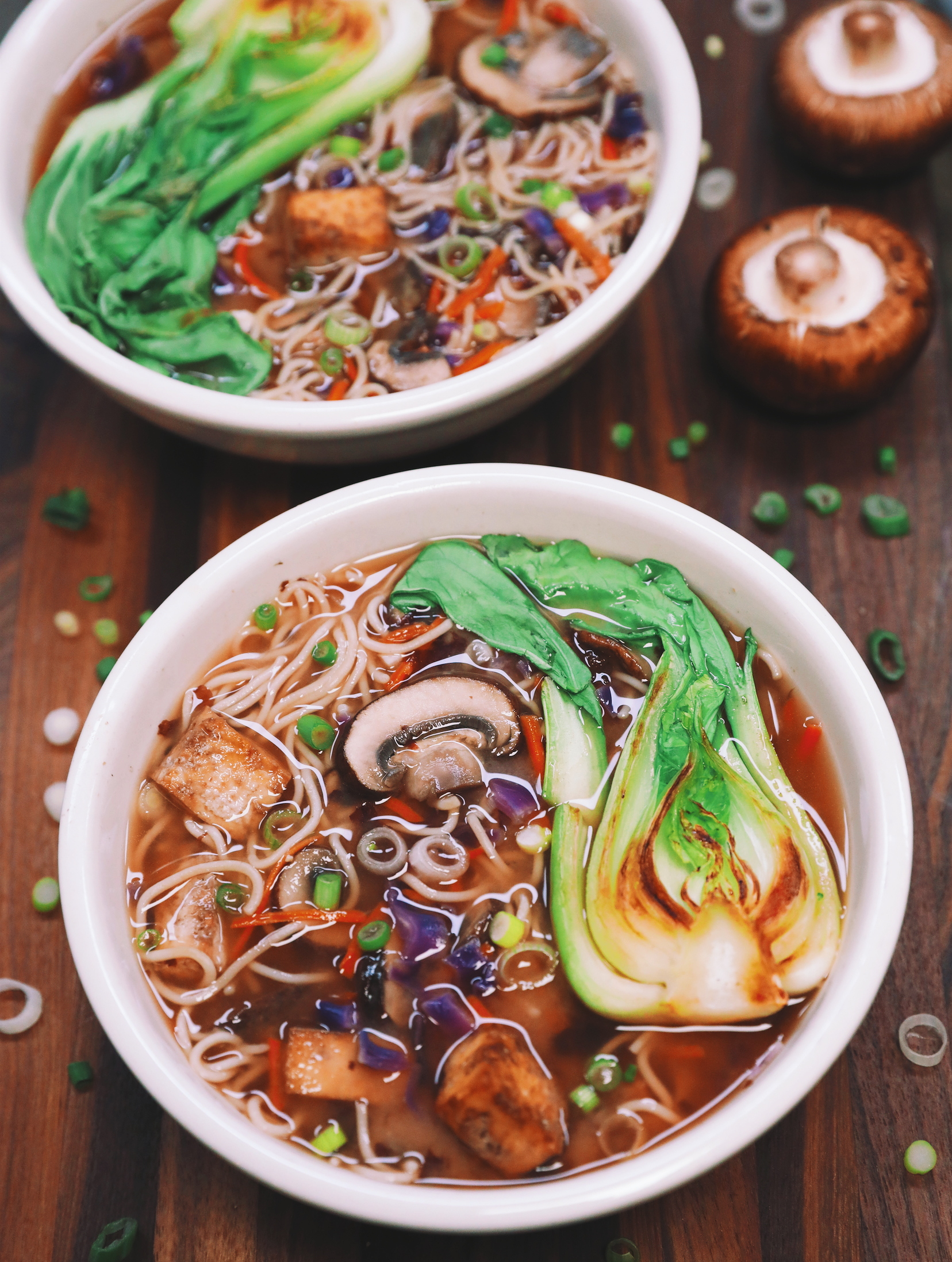 Miso Ramen Veggie Soup