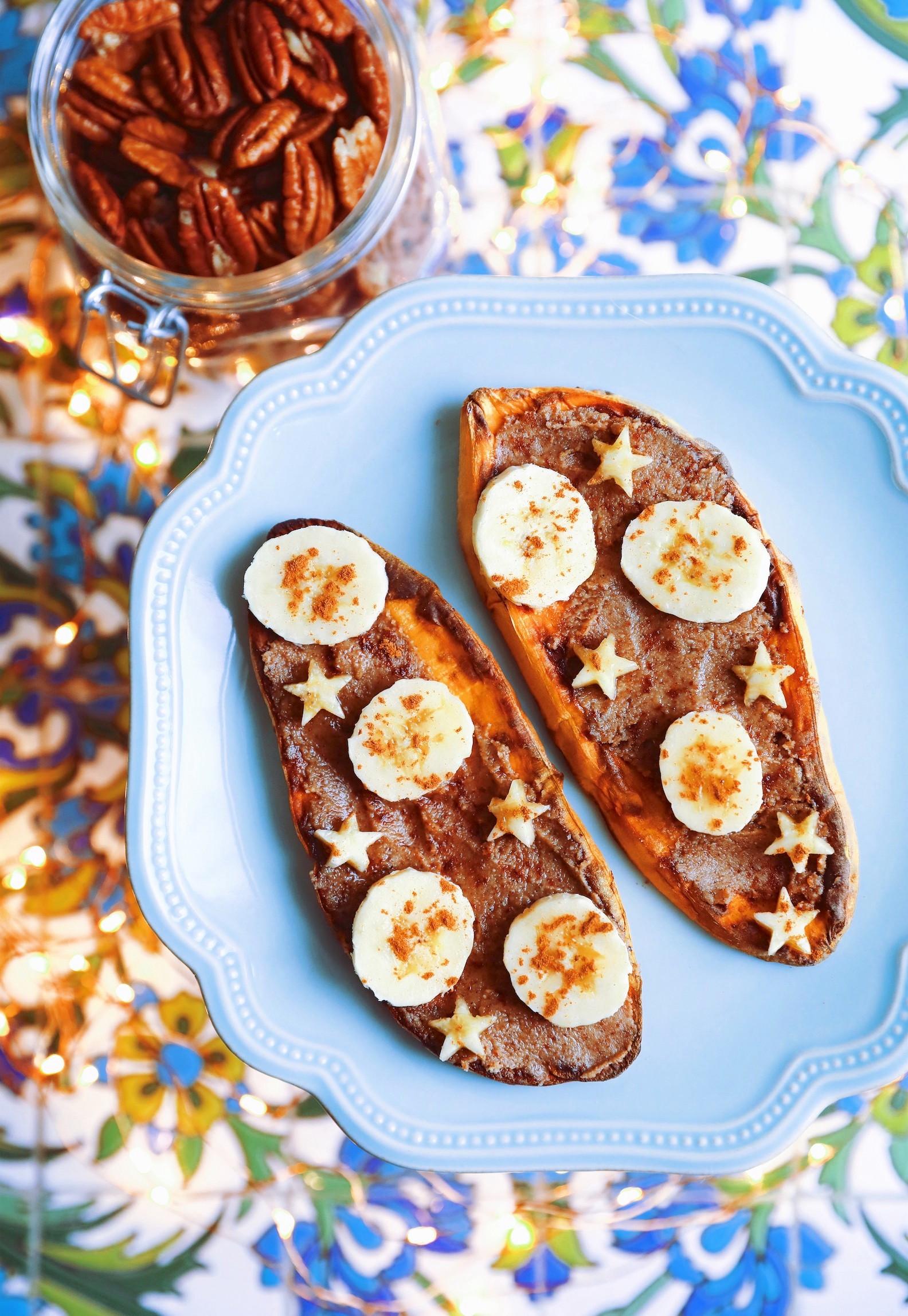 Sweet Potato Breakfast Toast