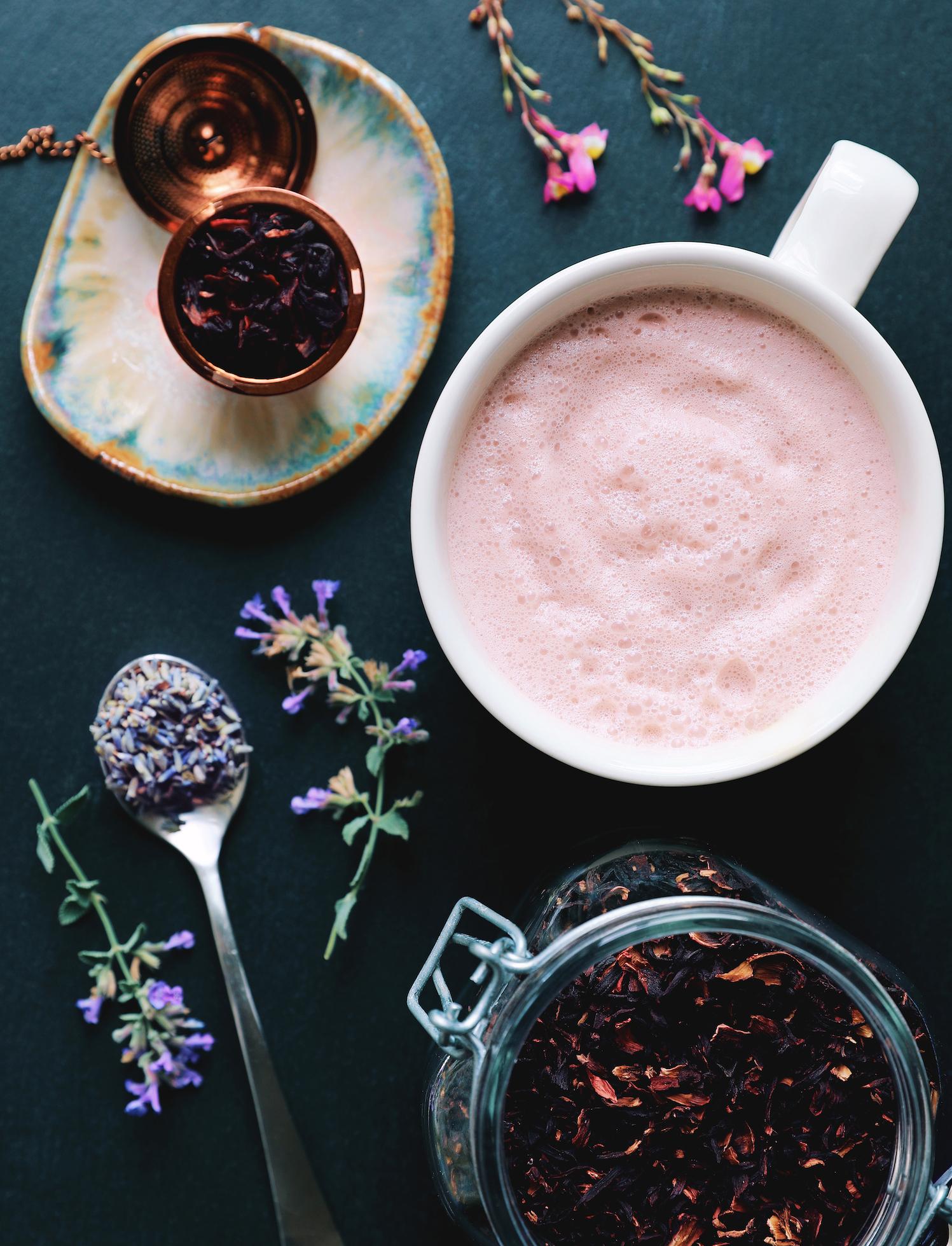 Hibiscus Cherry Moon Milk