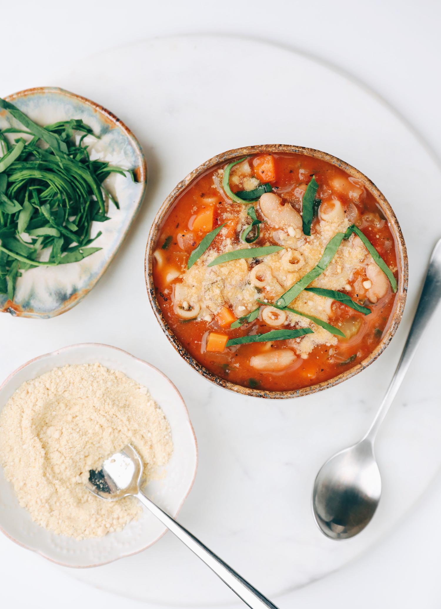 Pasta & White Bean Soup