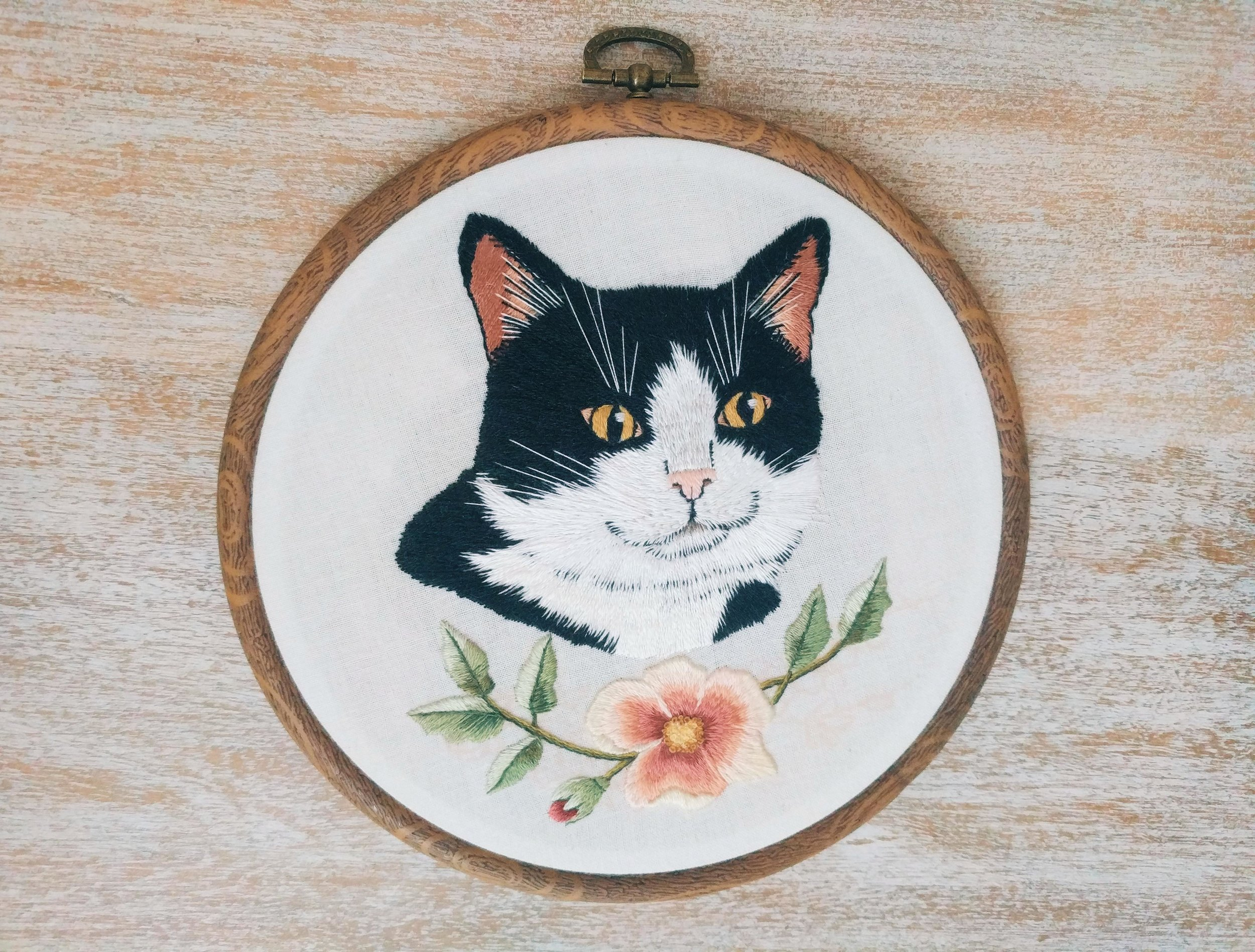 Mittens the cat- a gift for a friend