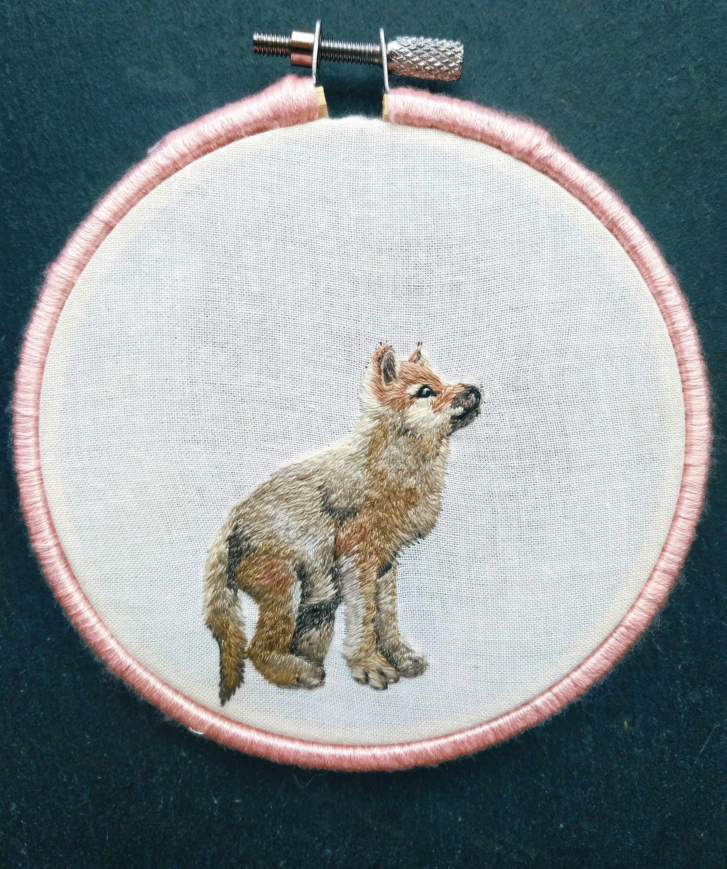 Wolf Pup- a practice project for a baby woodland animal series I'm starting soon