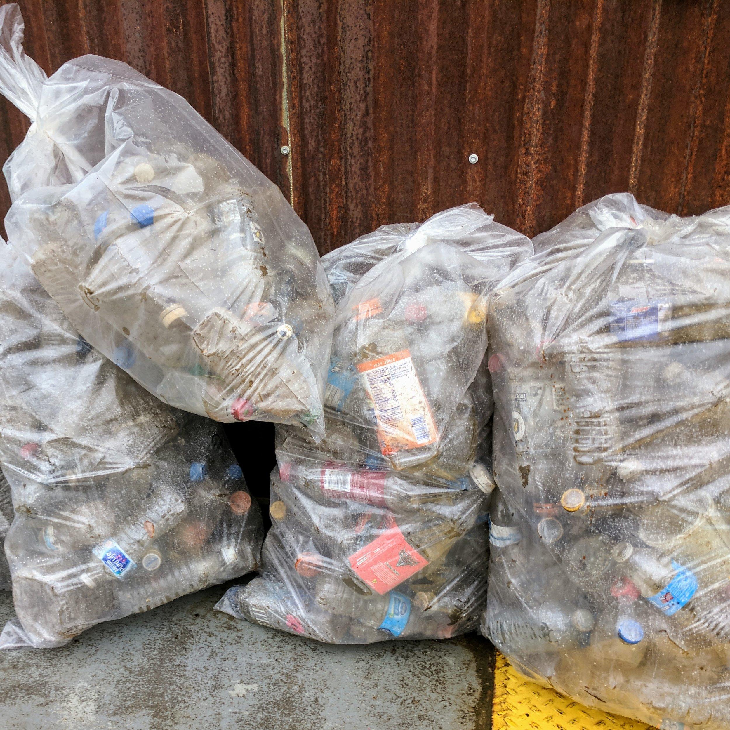 PET Plastic - Quantity: 10 bagstext