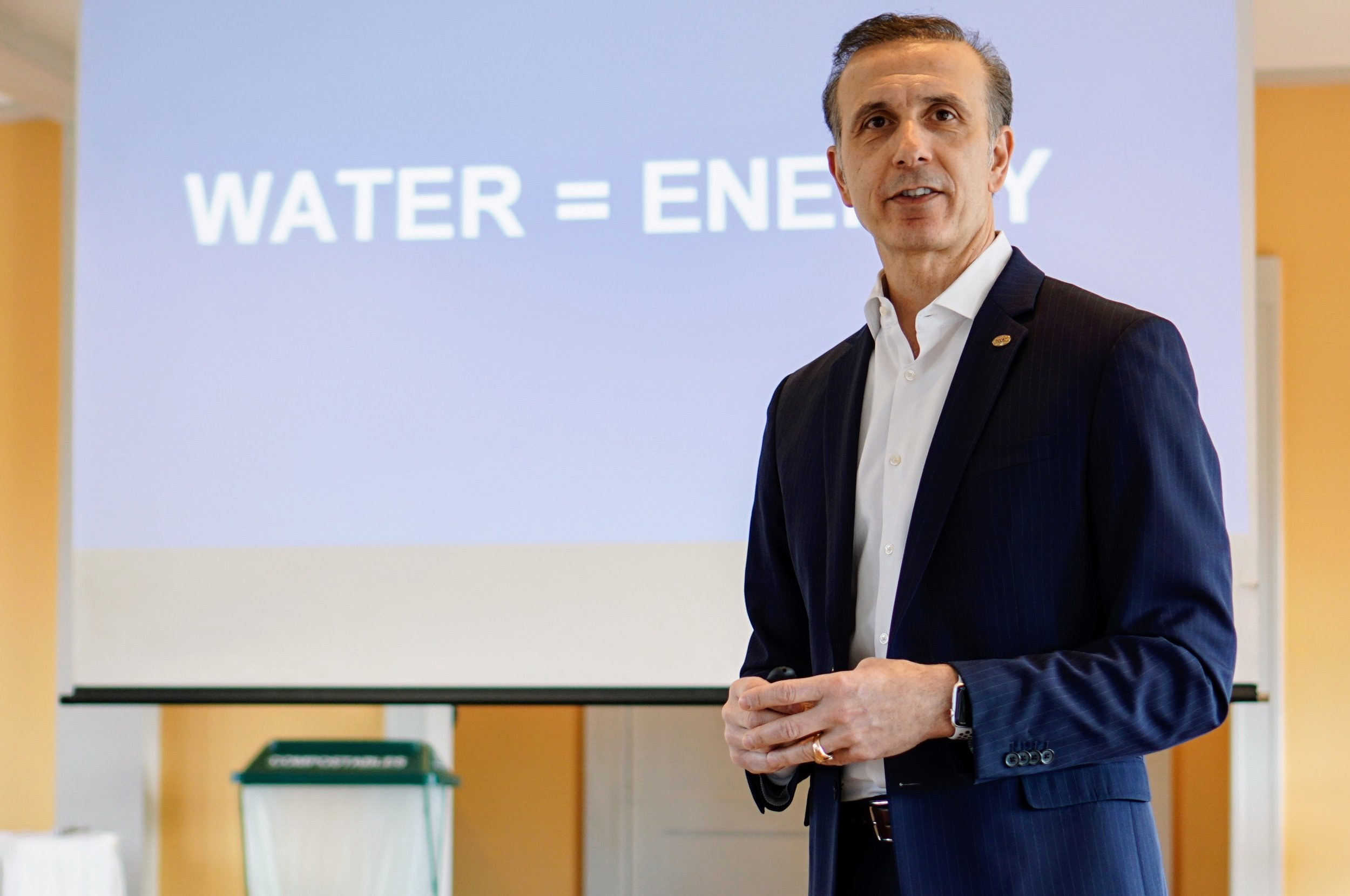 Ecolab DIrector of Sustainability Emilio Tenuta
