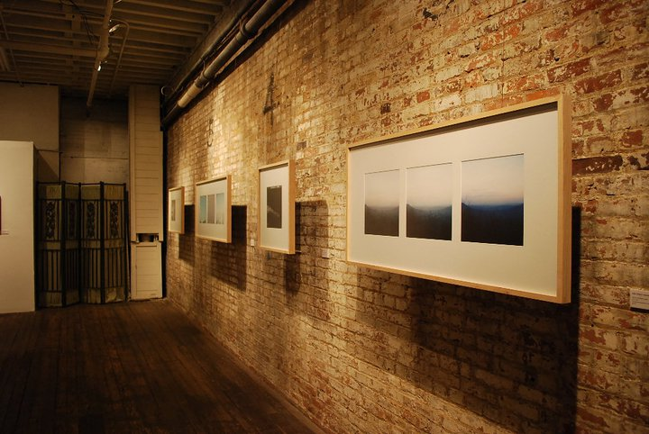 An image documenting the latest exhibition, series entitled HALIDE