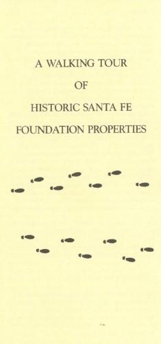 Walking Tour of HSFF Properties, September 1997
