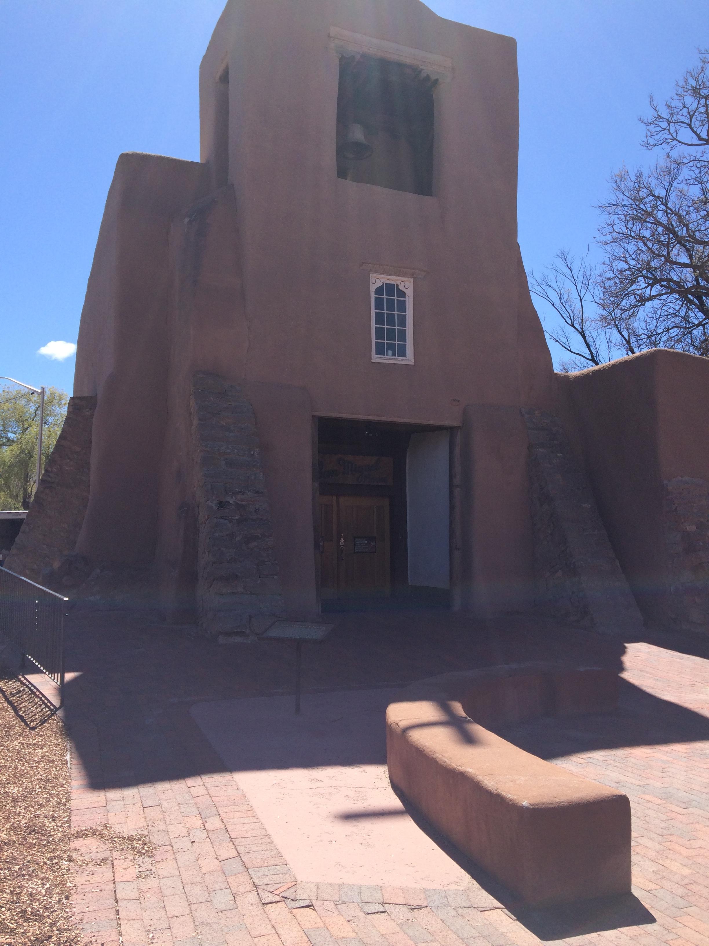 San Miguel Chapel, Old Santa Fe Trail at De Vargas