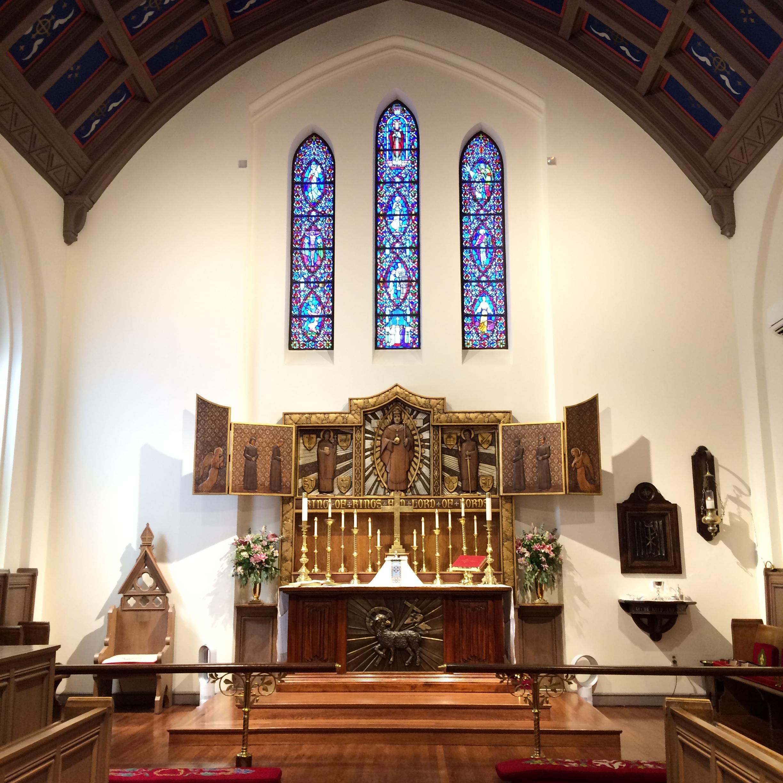 The Church of the Holy Faith, 311 E. Palace Avenue