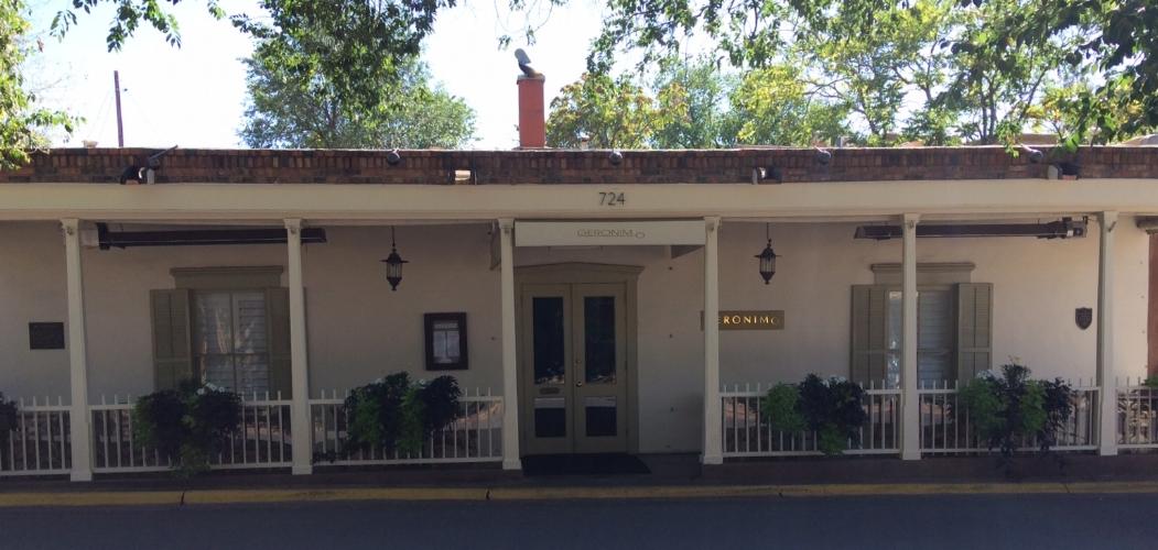 Borrego House, 724 Canyon Road