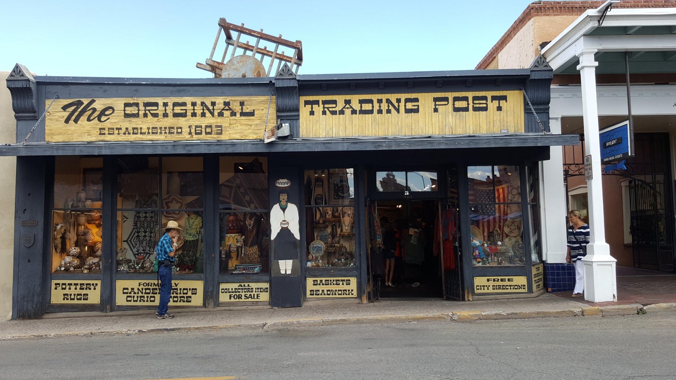 "J.S. Candelario's ""Original Old Curio Store"", 201 West San Francisco Street"