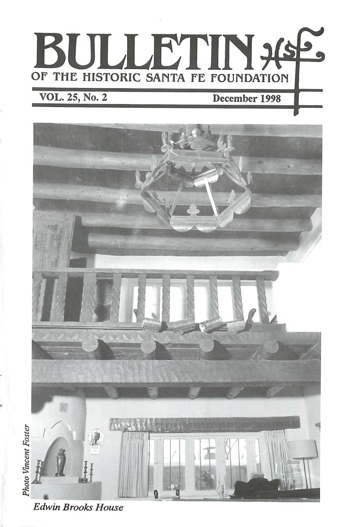 1998 HSFF Bulletin Vol.25 No.2 Cover