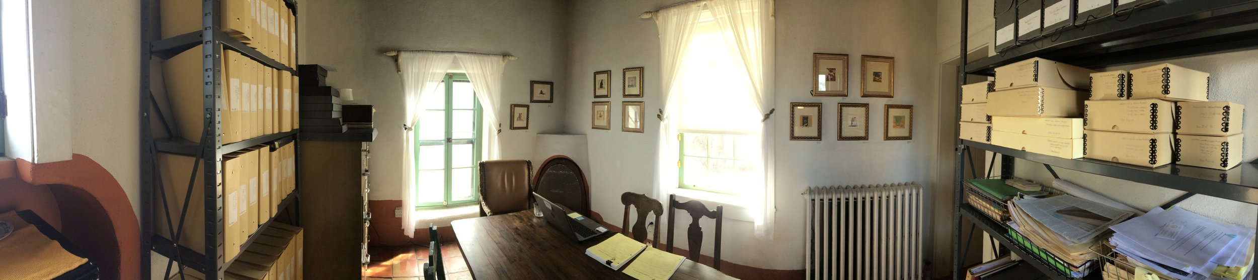 Archives Room Panorama