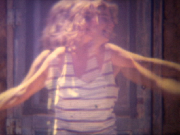 Sally Ann Dancing (Captured still frame from 'The Roads of the Seventies')