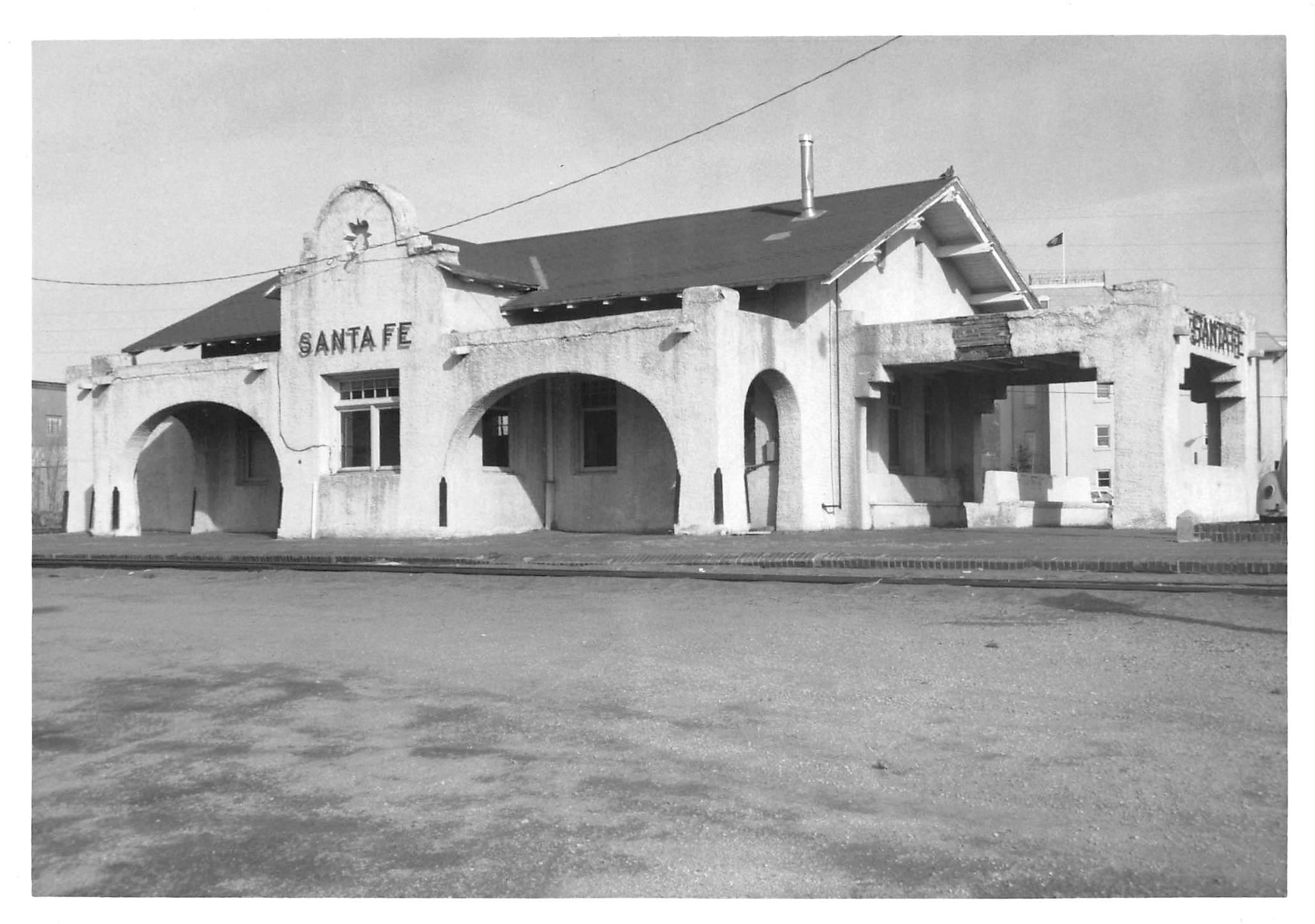 Atchison, Topeka & Santa Fe Railway Depot, Railyard