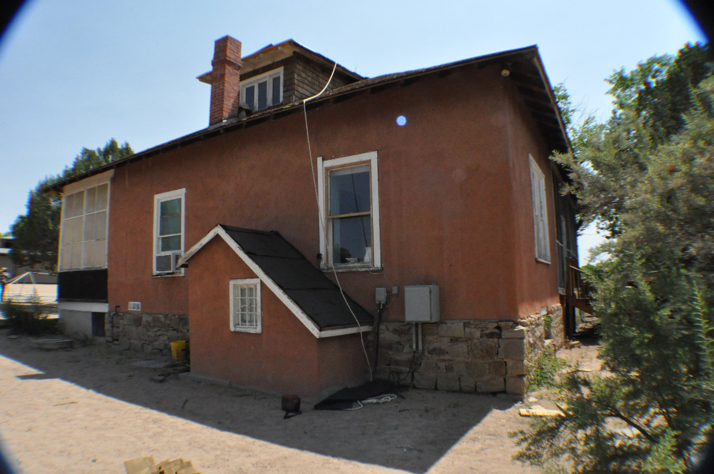 Pino Ranch House at Ranch de las golondrinas  listed on HSFF's Register