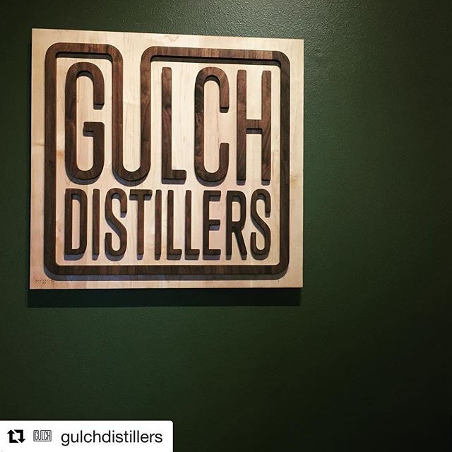 #Repost @gulchdistillers (@get_repost) ・・・ We're loving our new sign from @soignecraftsman! Thanks Jake! Come check it out tonight. We're open! #gulchremodel #cocktailtime #montanaspirits #montanamade