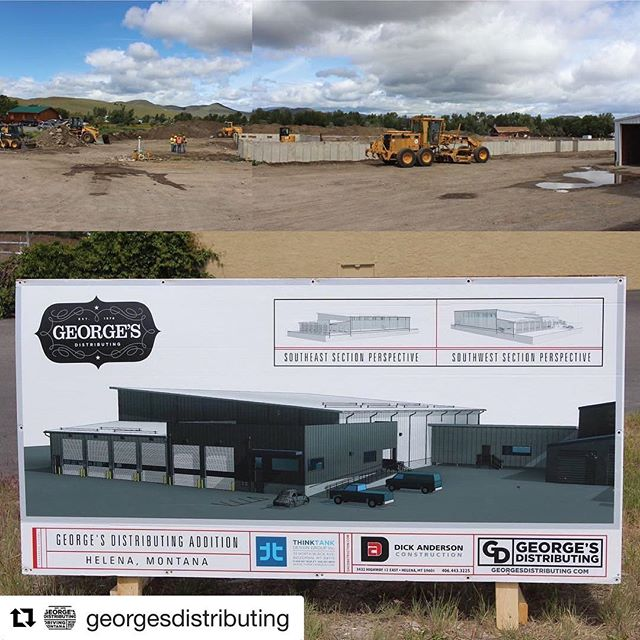 #Repost @georgesdistributing (@get_repost) ・・・ Construction continues behind us here at the Old Kessler Brewery and we're excited. Can't wait to utilize what is going to be a big and wonderful new space.