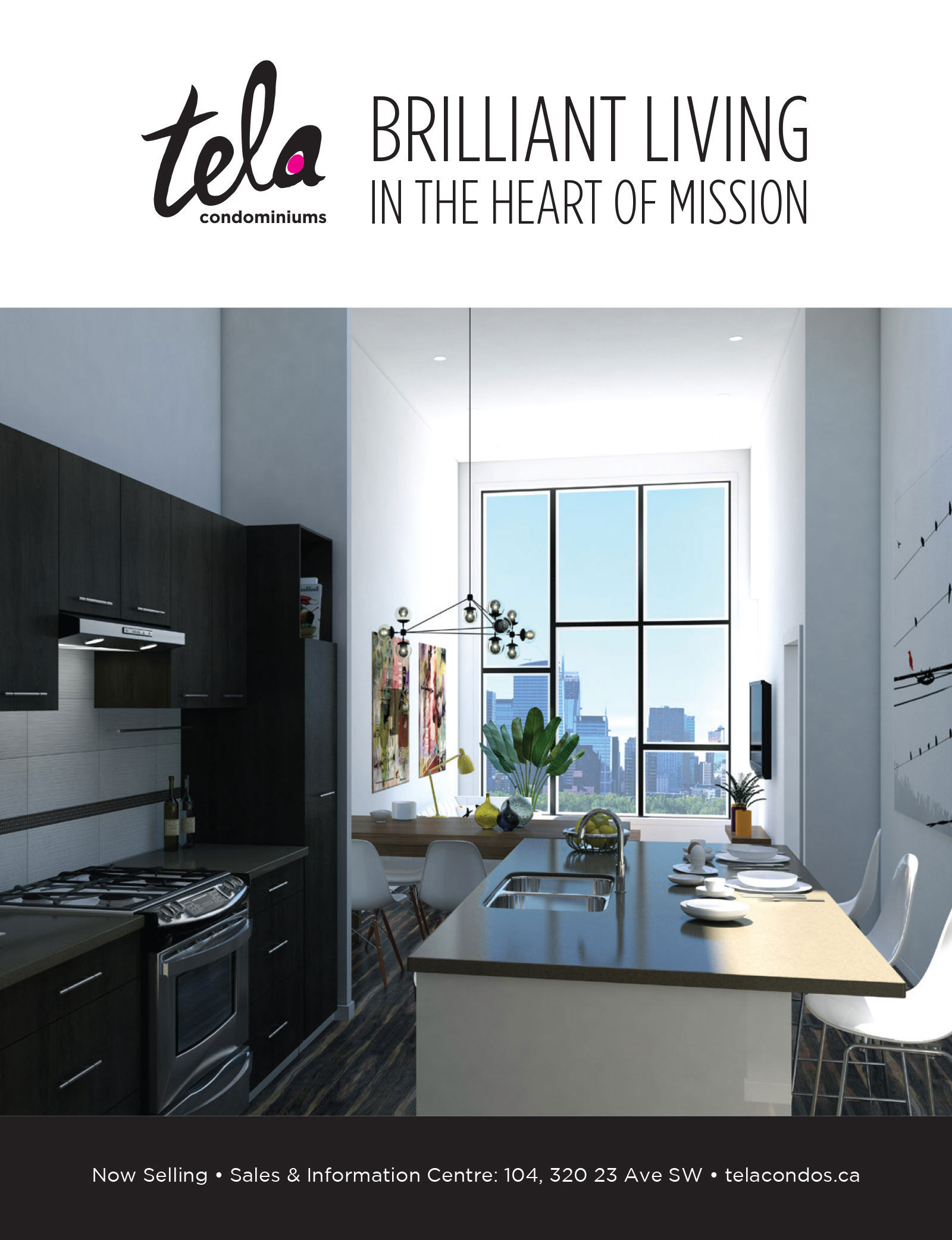 Tela Condominiums: residential development marketing