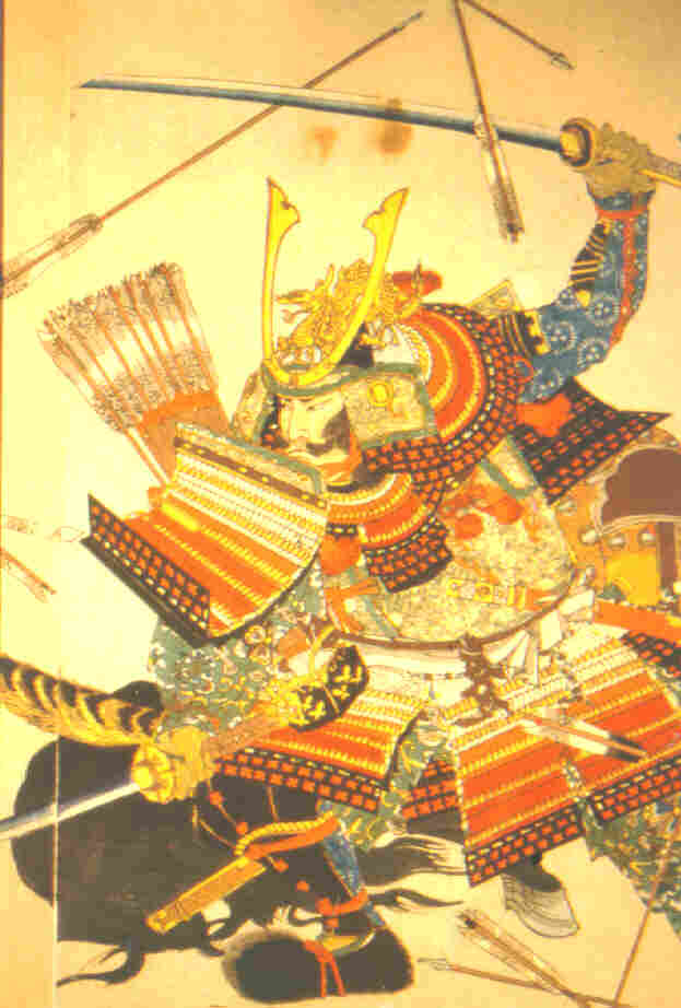 Samurai_In_O-Yaroi_Fighting_Arrows_2.JPG