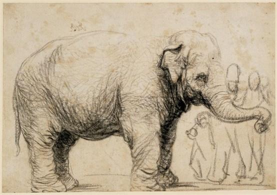 Rembrandt image. ©Trustees of the British Museum