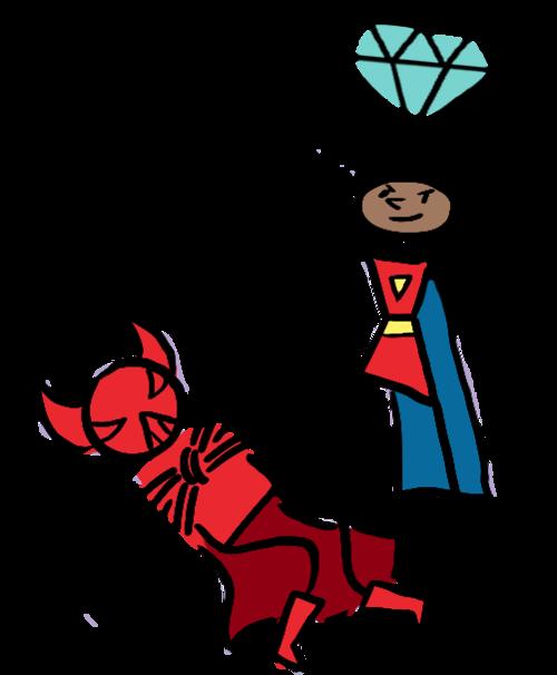 Scriberia Academy superheroes