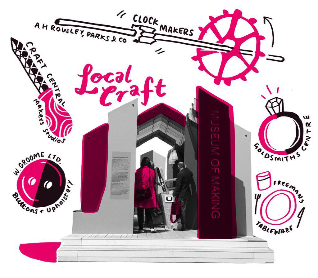 Digital scribing at Clerkenwell Design Week | Scriberia