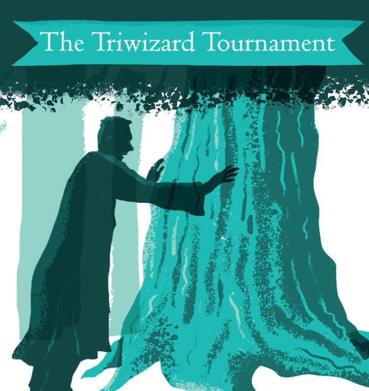 Scriberia illustration agency The Triwizard Tournament Pottermore