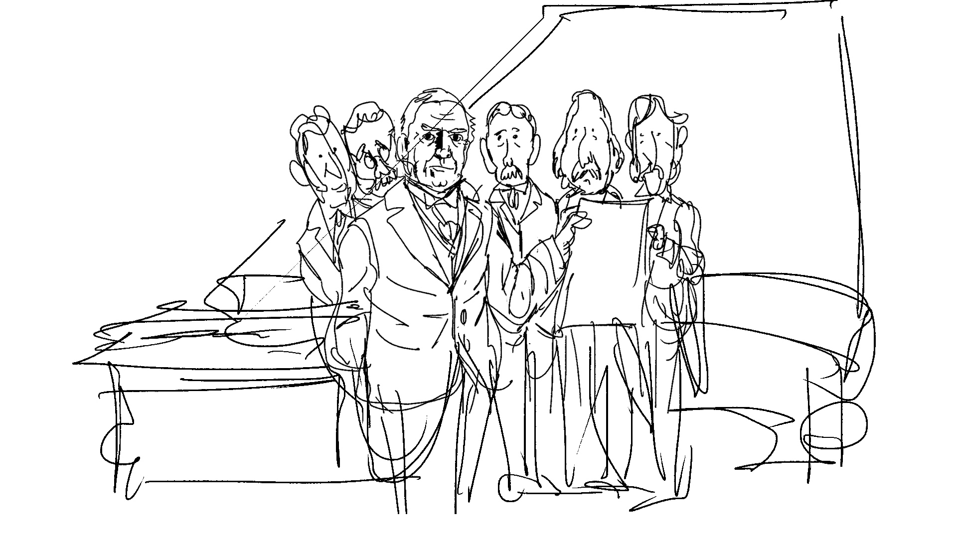 Scriberia Animation Century Ireland early sketch