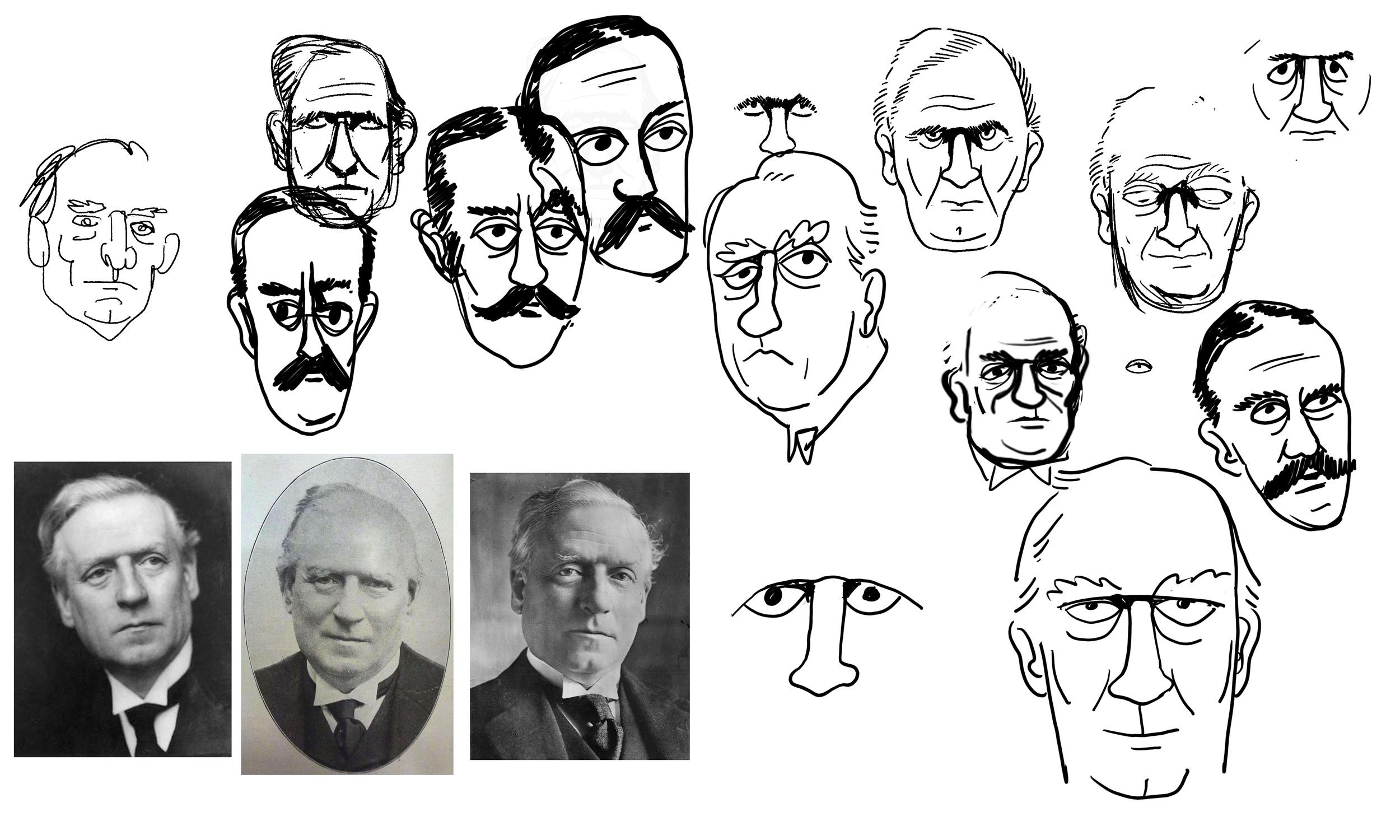 Scriberia Animation Century Ireland Faces