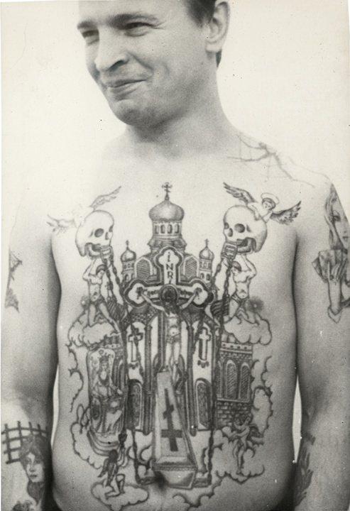 Arkady Bronnikov Russian Tattoos