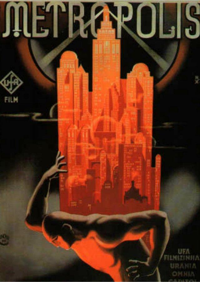 Scriberia Alternative Film Posters Bottlik Metropolis