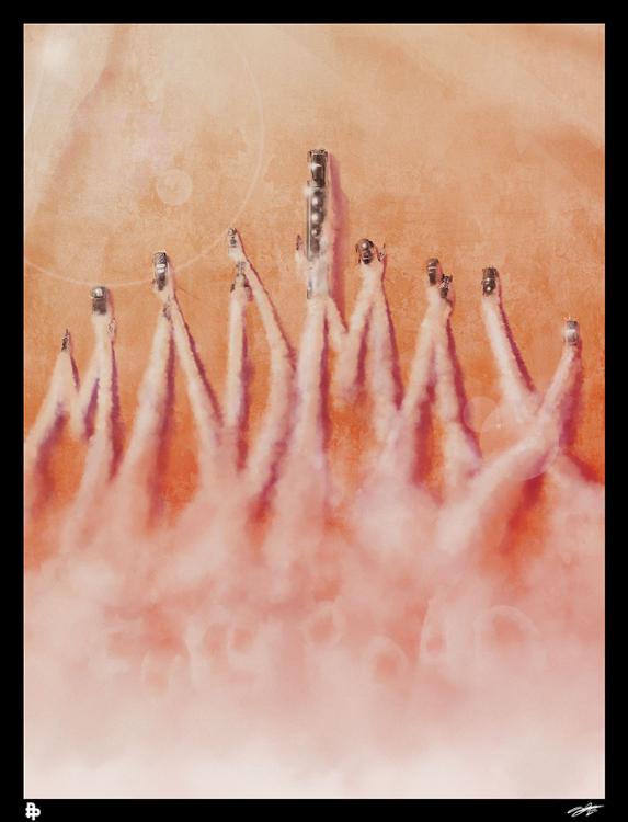Scriberia Alternative Film Posters Fairhurst Fury Road