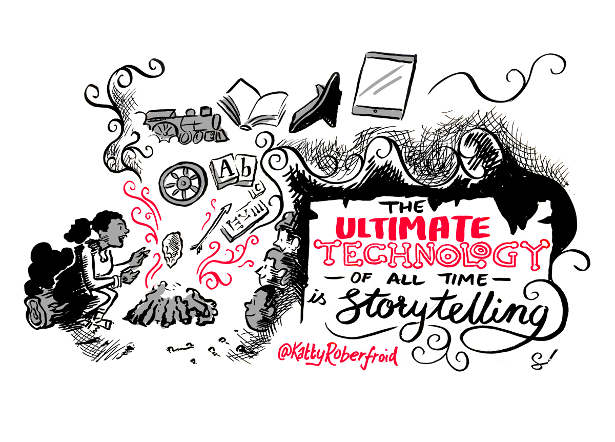 Scribing Sketchnoting Illustration at the WFA Global Marketer Conference, Toronto 2017 cropped image 1