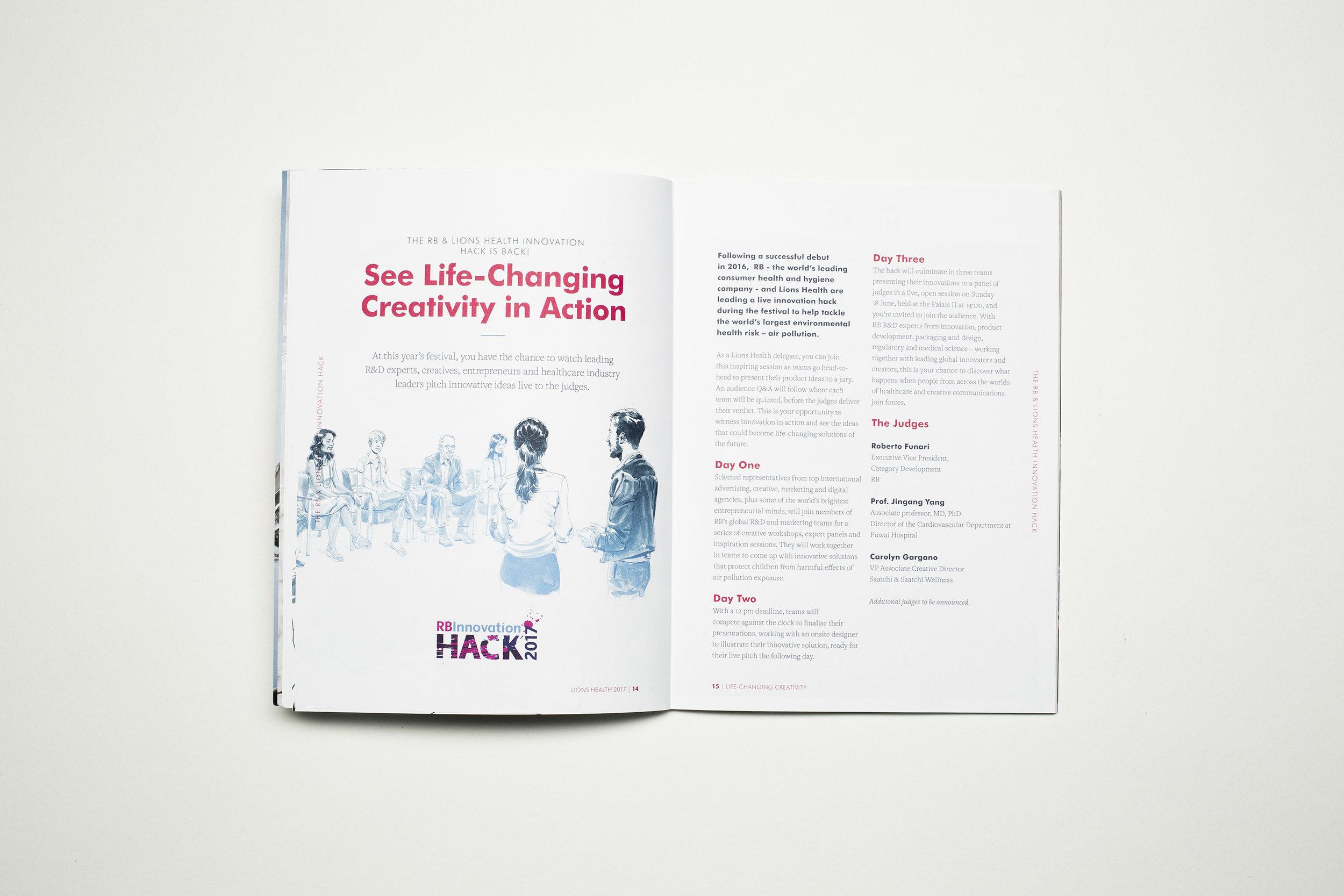 Scriberia Cannes Lions Festival of Creativity Illustration Rupert