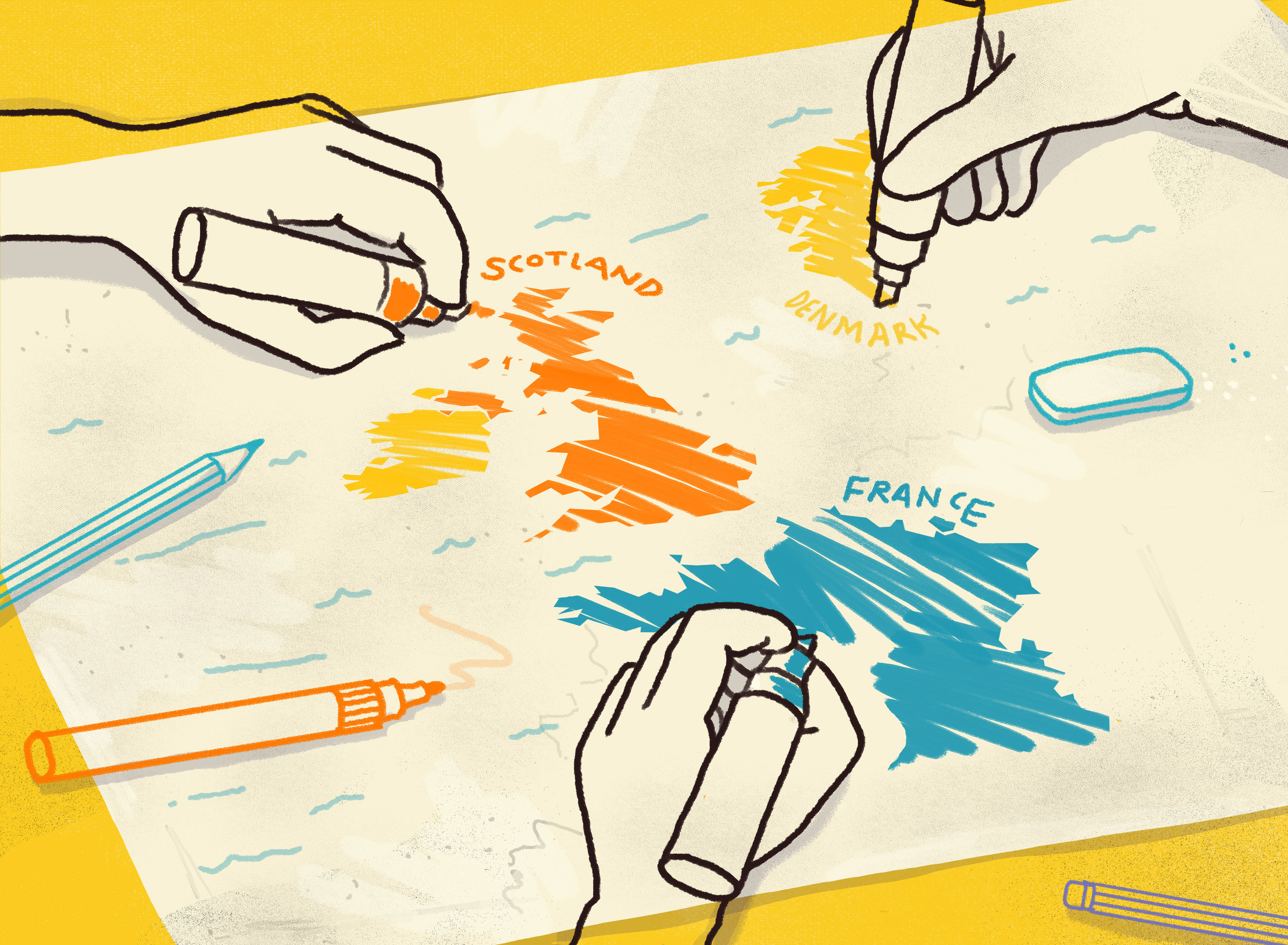 Scriberia has scribes based all over the world