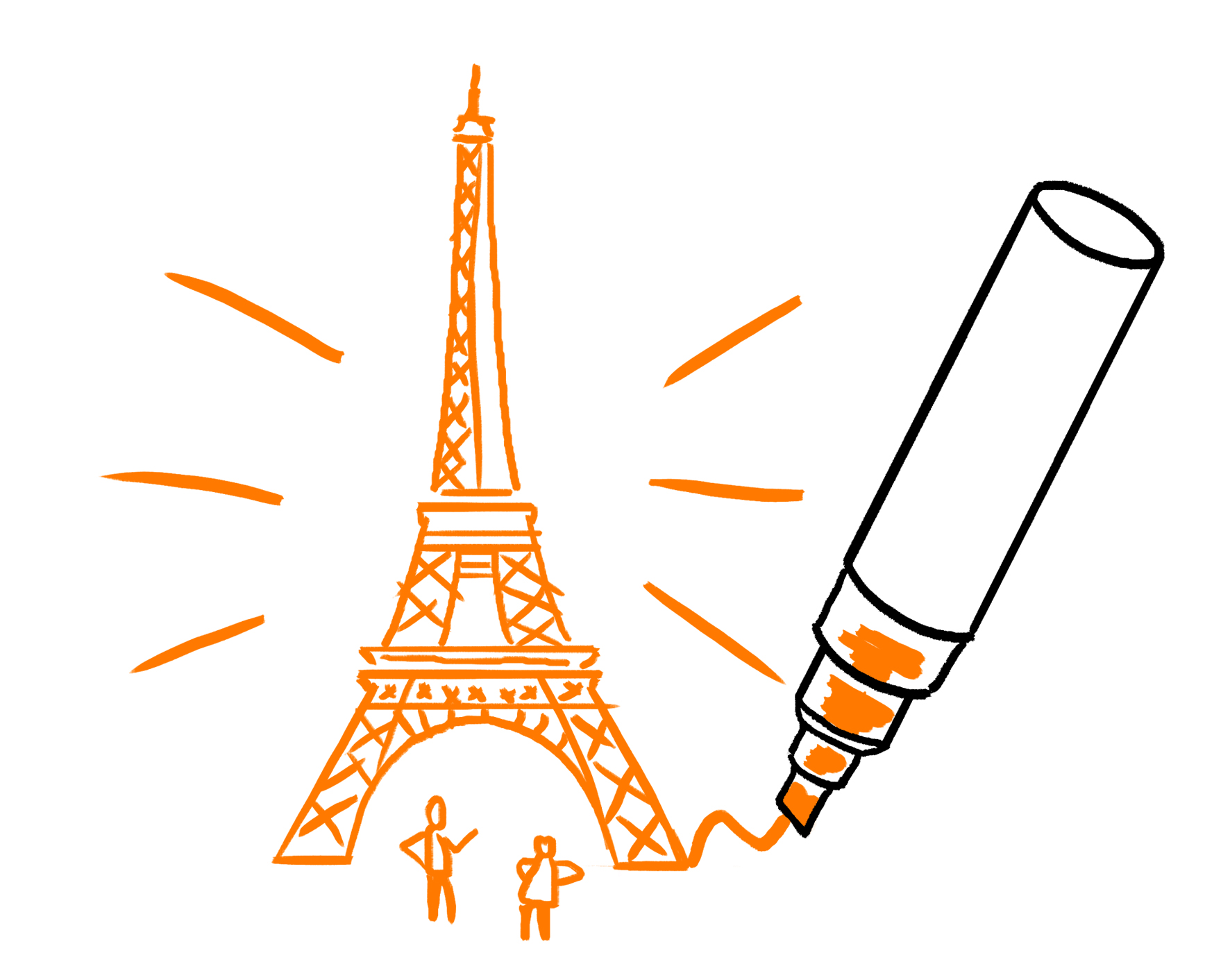 Scriberia overseas: Our scribe, Mathieu, is now based in France