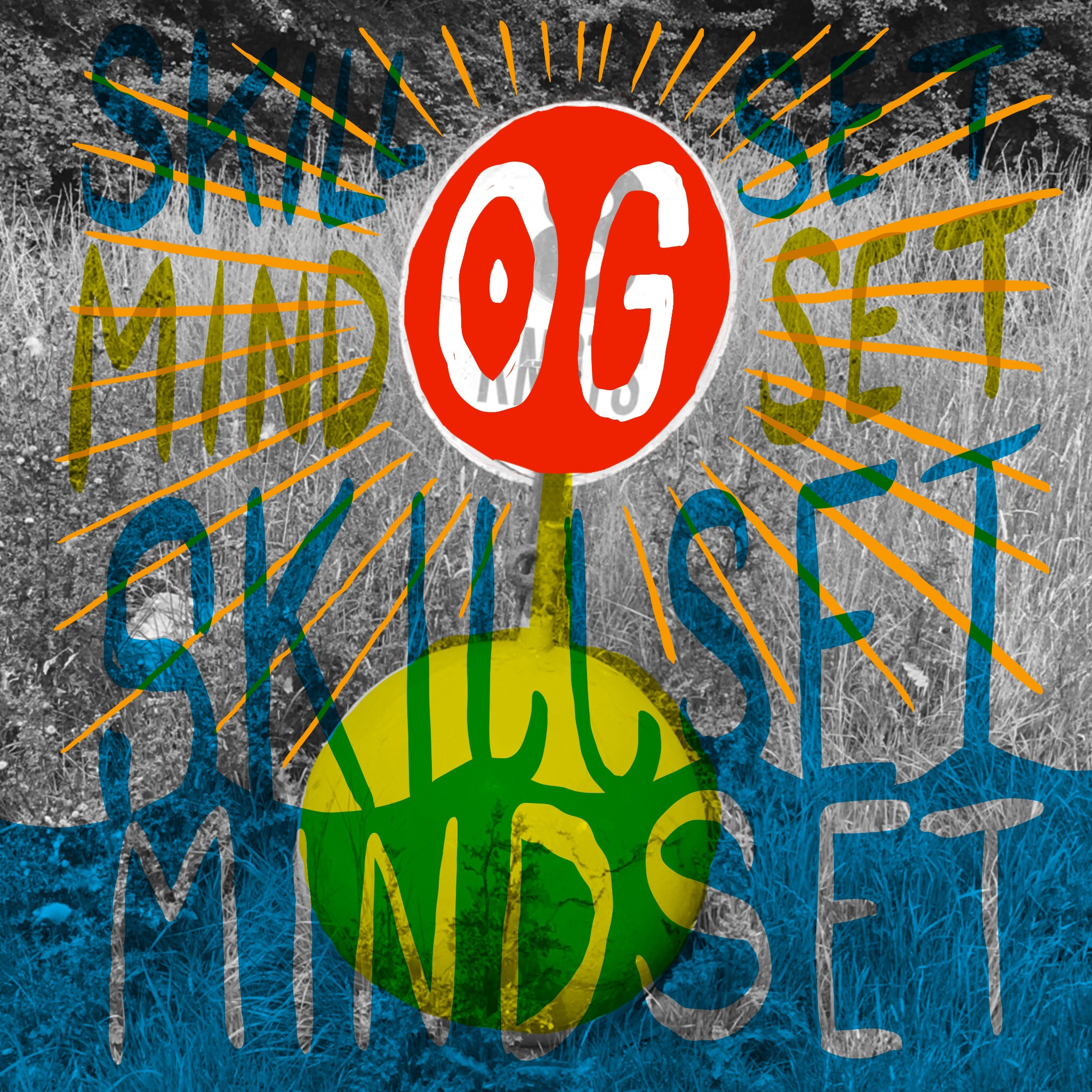 Scriberia OffGrid Sessions Illustration Postcard Skillset Mindset