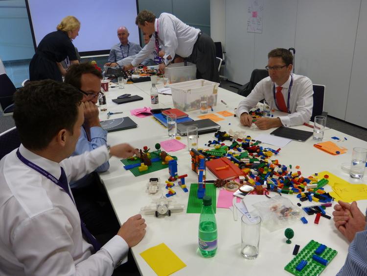 Scriberia Interactive Visual Workshop Lego Anti-PowerPoint