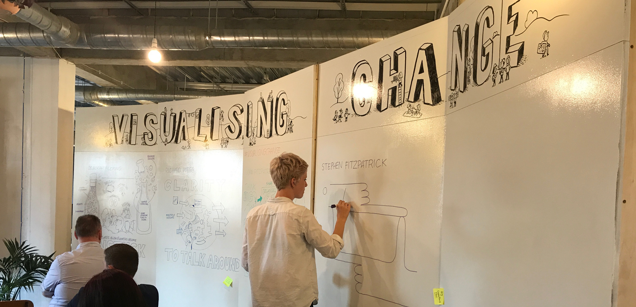 Scribing is a mirror  - Deborah Fleming, Chameleon Works