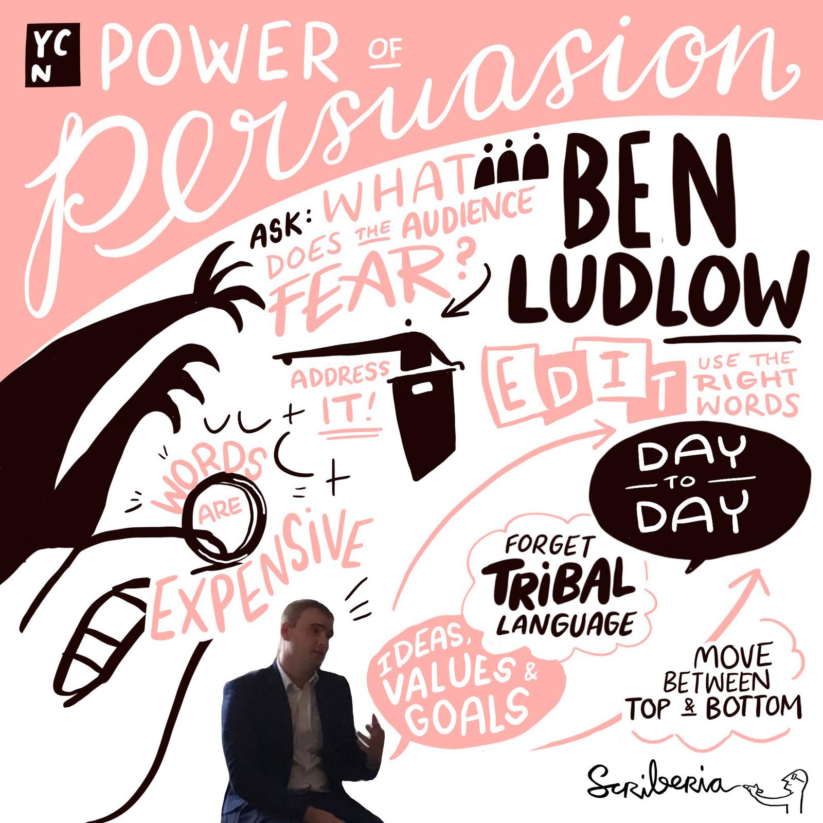 Scriberia Sketchnotes YCN Digital Scribing Ben Ludlow