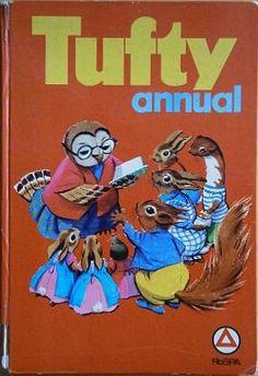 Scriberia Top Five Christmas Annuals Tufty